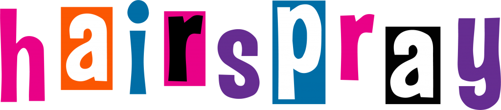 Hairspray Logo Front Inspiration Stage Student